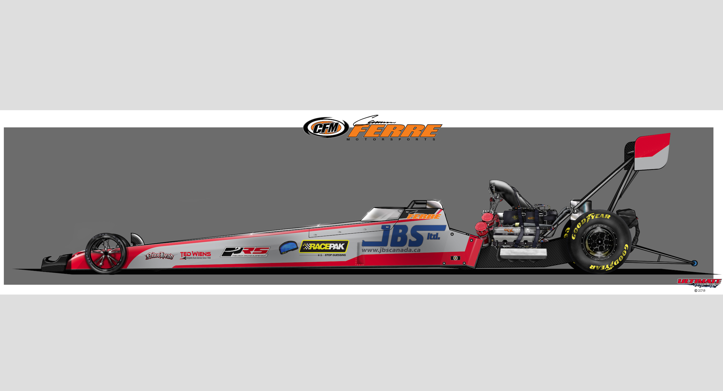 Our Pal Cameron Ferre Is Going Rounds In Top Fuel Debut Today In Charlotte!