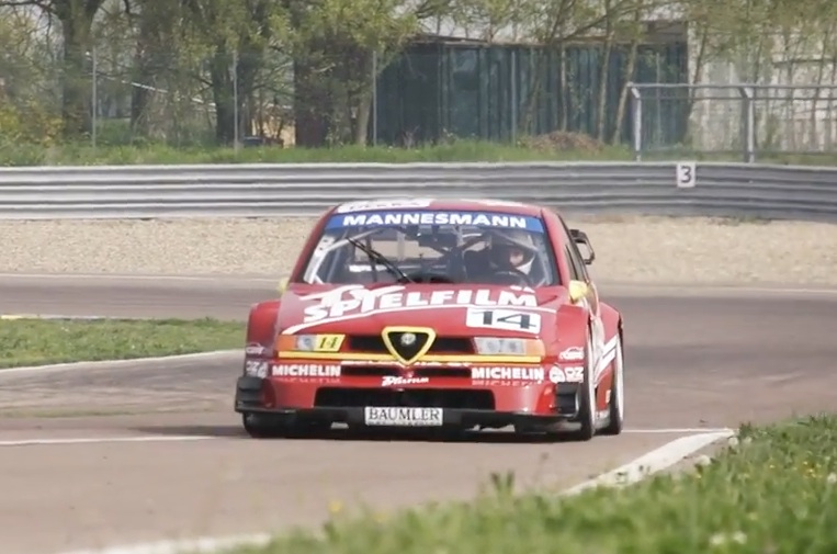 Morning Symphony: This Alfa Romeo 155 V6 Ti International Touring Car Is Anything But Peaceful!