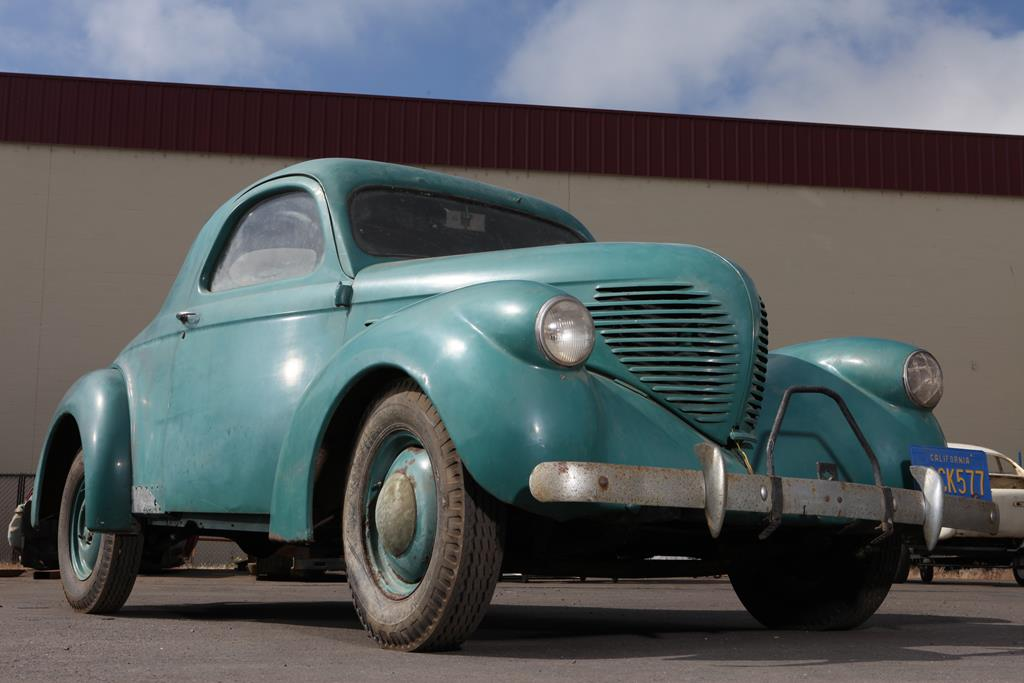 Sheridan Hale Bought This 1937 Willys Coupe New, It May Be The Only One Left.