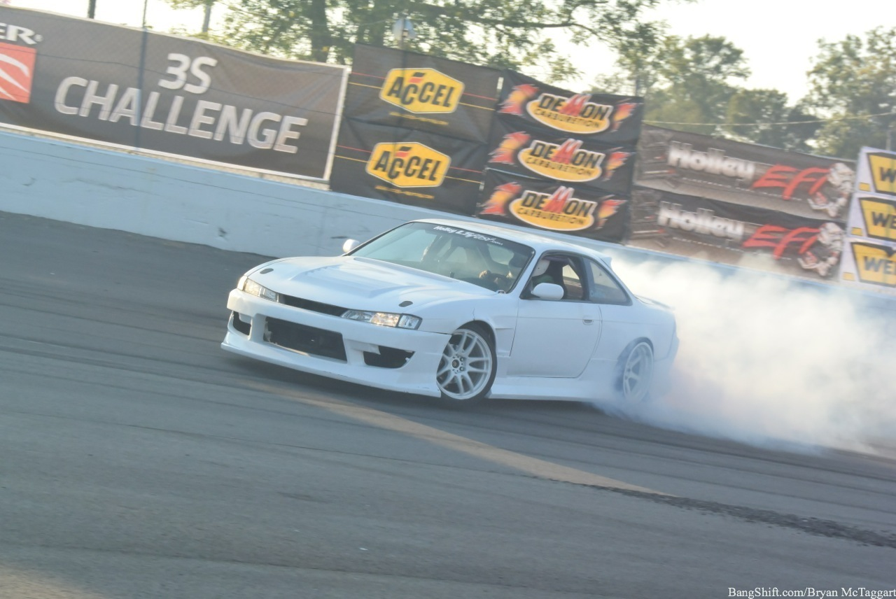 Drifting Action From Holley's LS Fest Right Here! Tire Smoke And Carnage Baby