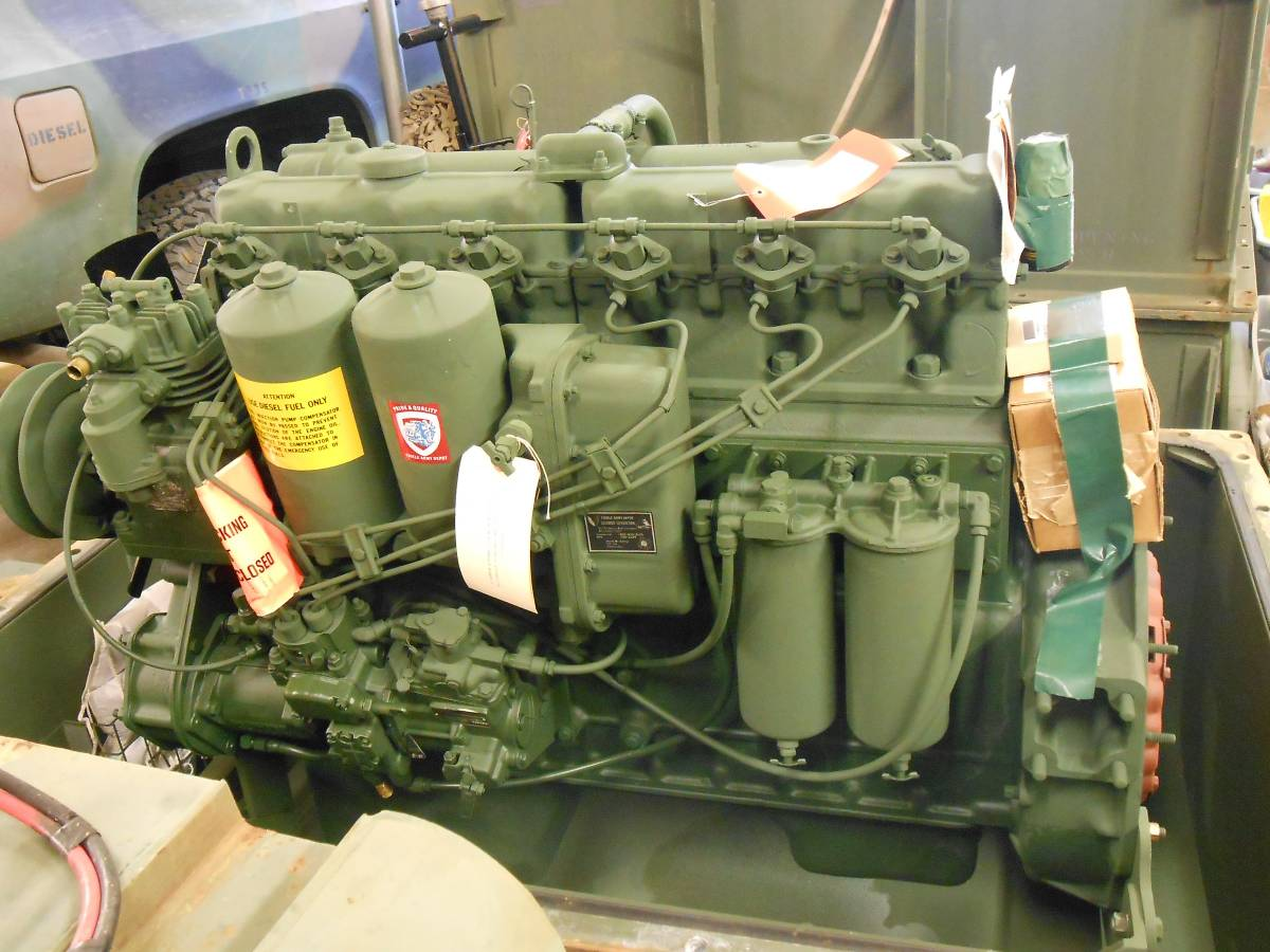 Multi Fuel Engine Deuce And A Half For Sale