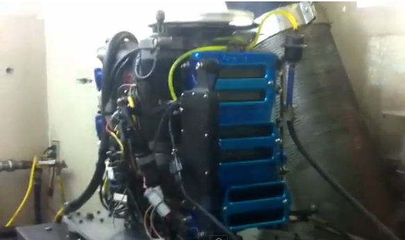 Listen To A Hot Rodded 2.5L Mercury Marine V6 Scream To 10,500 RPM!