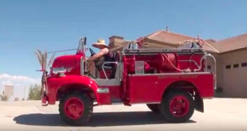 1956 Ford Fire Truck : Bangshift ford c