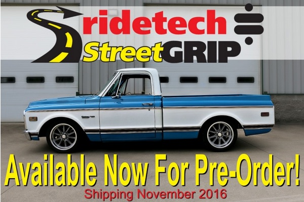 RideTech Announces New StreetGrip System For C10 Trucks – Pre Orders Being Taken Now, Shipping In November