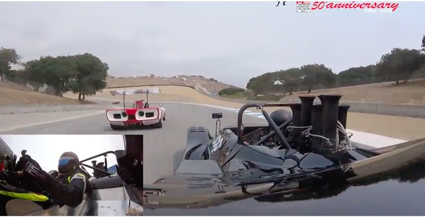 Ride On The Back Of The Restored, 800hp, UOP 1974 Shadow DN4 Can-Am Car At Laguna Seca!