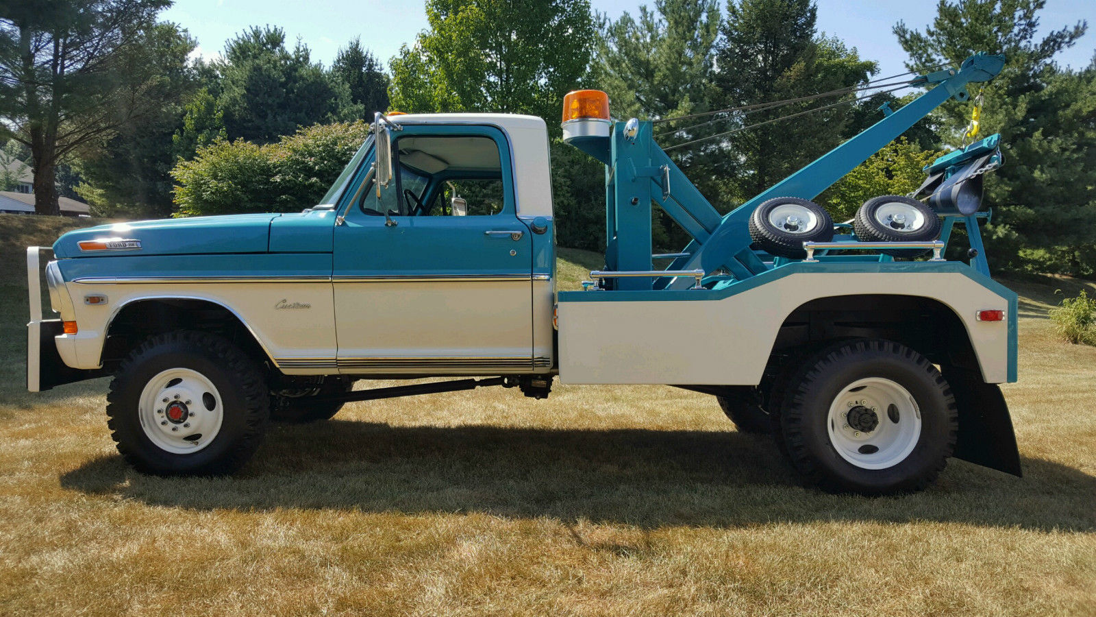 This 1969 ford f 350 wrecker could be the most stunning we ve ever