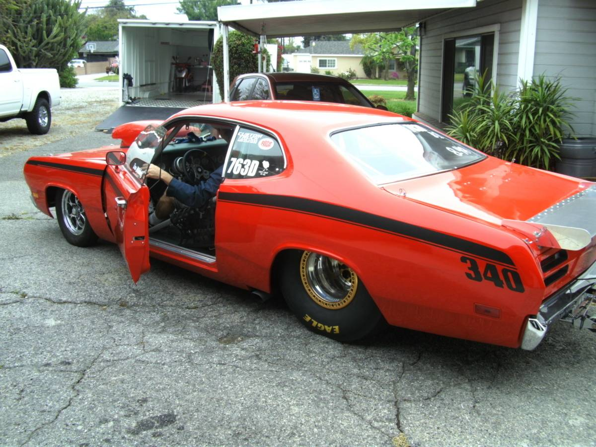 this big tire 1971 plymouth duster is one clean machine with a twist. Black Bedroom Furniture Sets. Home Design Ideas