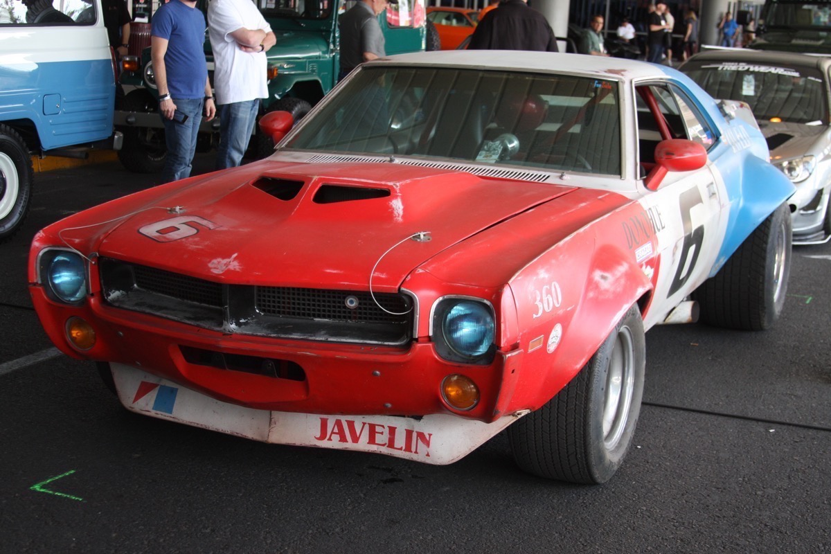 This Insanely Tired and Flared 1970 AMC Javelin Is Our Favorite SEMA 2016 Car So Far