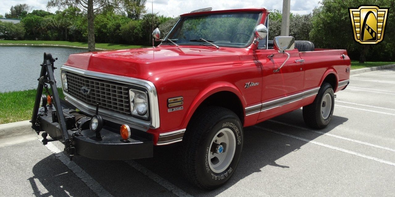 This 1972 K5 Blazer Is An Unrestored Masterpiece – Someone's 1970s Trail Rig, Three Pedals and All