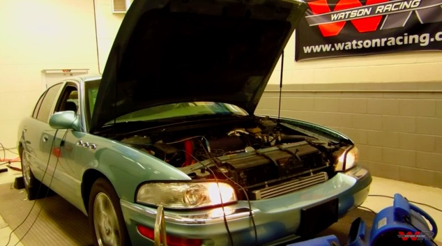 Sleeper Much? Watch This 2003 Buick Park Ave Make A Dyno Rip Worth 500hp!