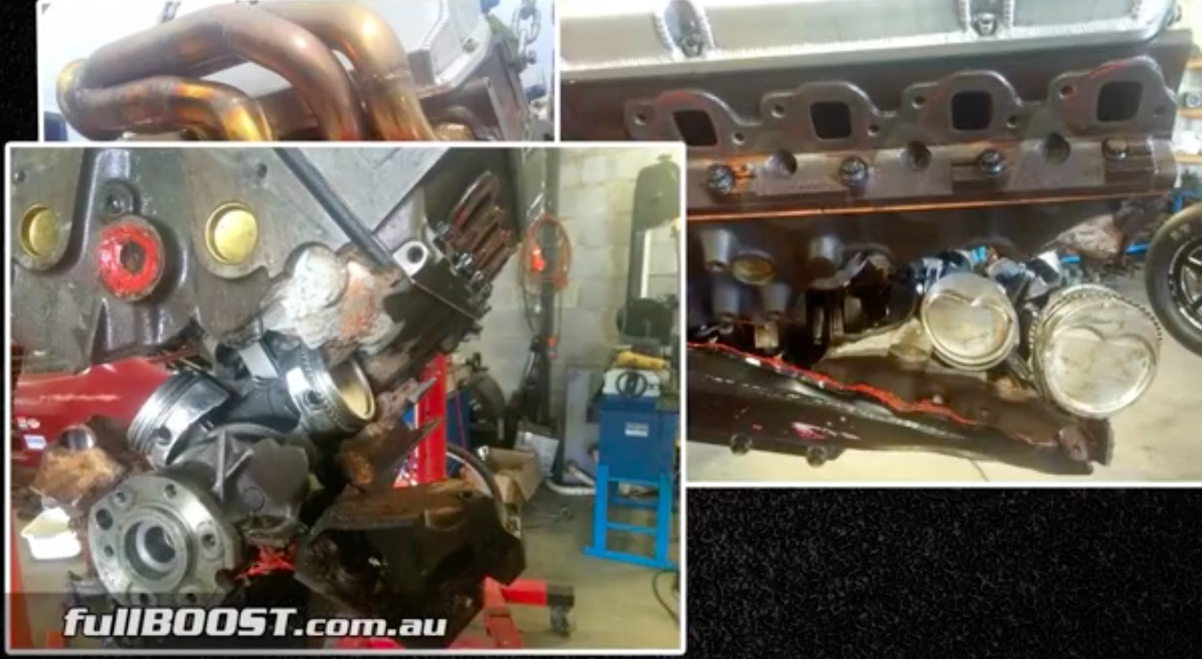 Watch This Guy Legitimately Blow The Crank Out Of The Block In Australia – Turbos Rule!