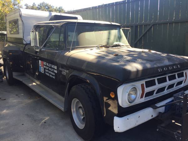 The Coolest 1968 Dodge D200 Dually In History Is For Sale  – 512ci, Twin Paxtons, Former Top Fuel Tow Rig