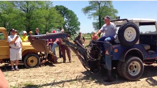 Video Bonanza: Willys Jeeps Doing Cool Stuff – Plowing Fields, Digging Holes, Running Saws!