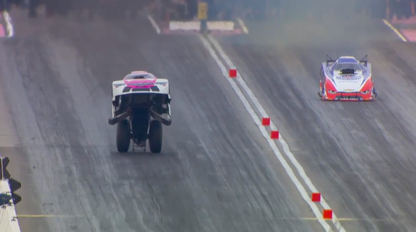 Watch Cruz Pedregon Make The Most Incredible Run In NHRA Funny Car History