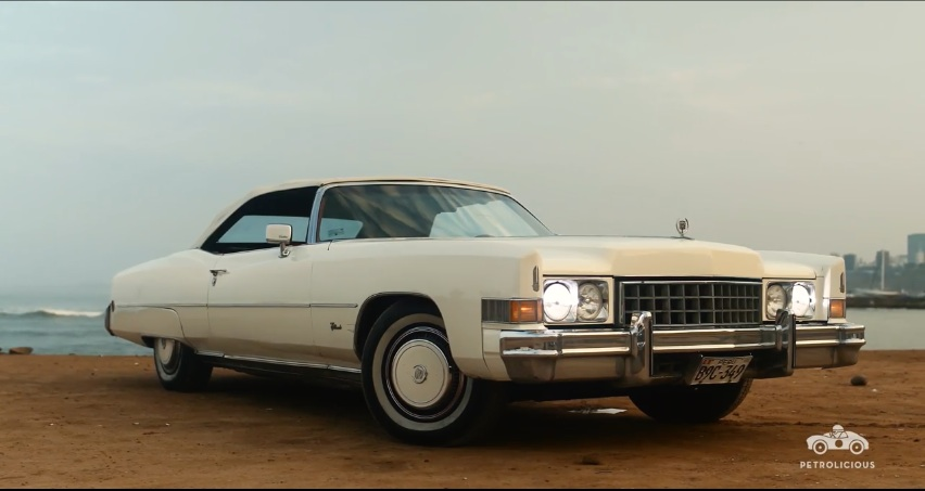 The Great White Whale: This 1973 Cadillac Eldorado Is Cruising Peruvian Boulevards!