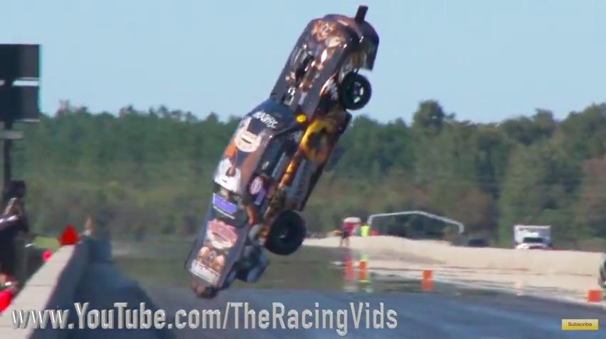 Watch Stevie Jackson Suffer A Horrendous Flying Wreck In The Shadow