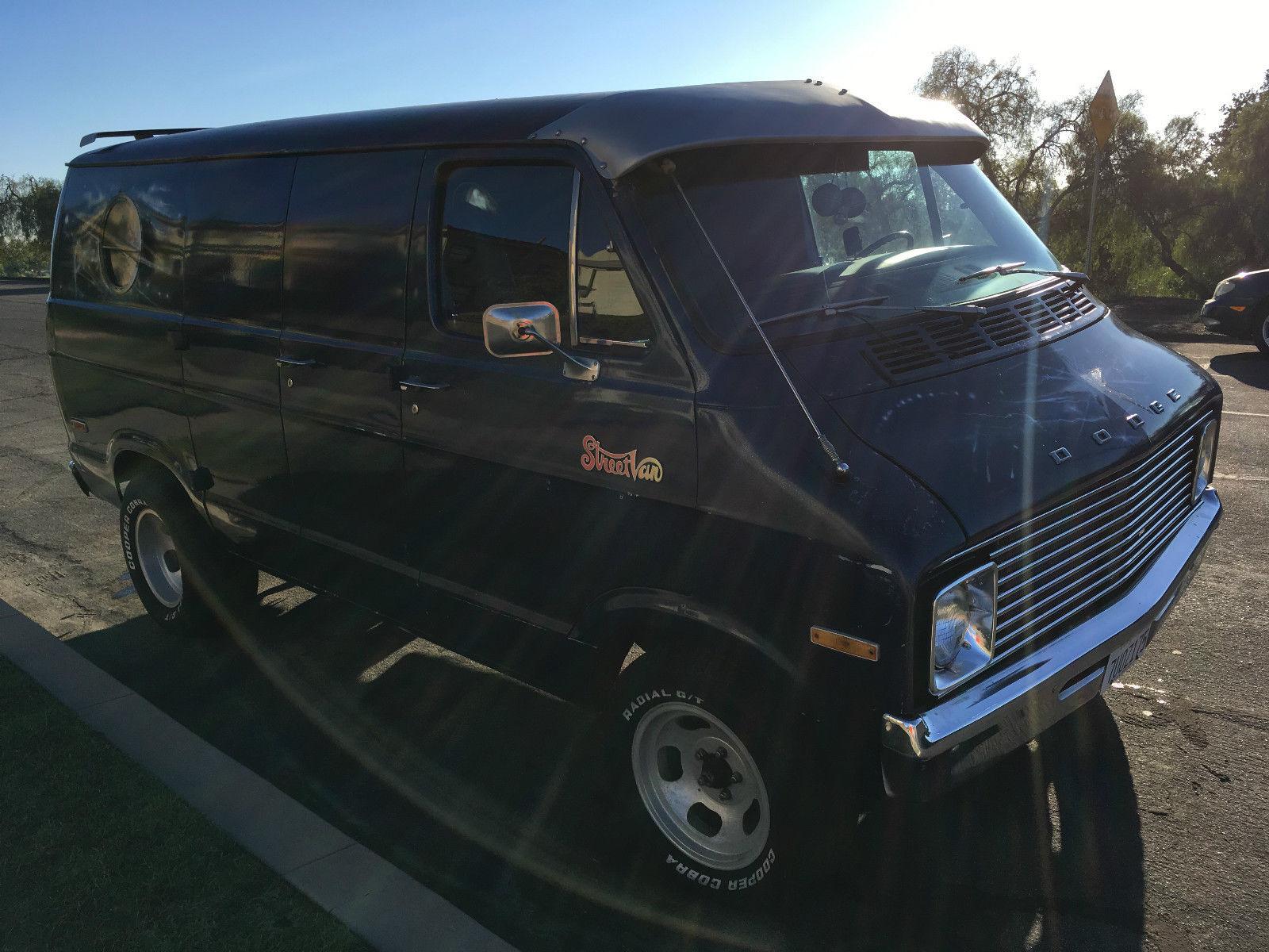 EBay Find A 1976 Dodge StreetVanAnybody Have Use For Disco Van