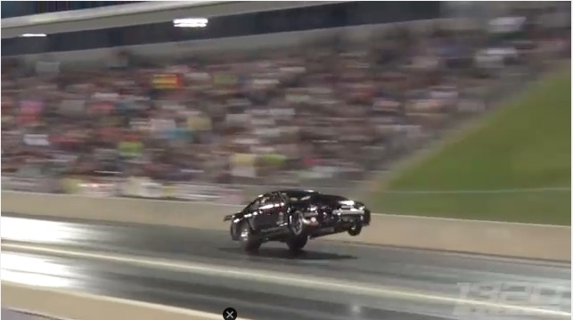 Watch Frank Soldridge Drive Into And Through A Power Wheelie Like A Boss