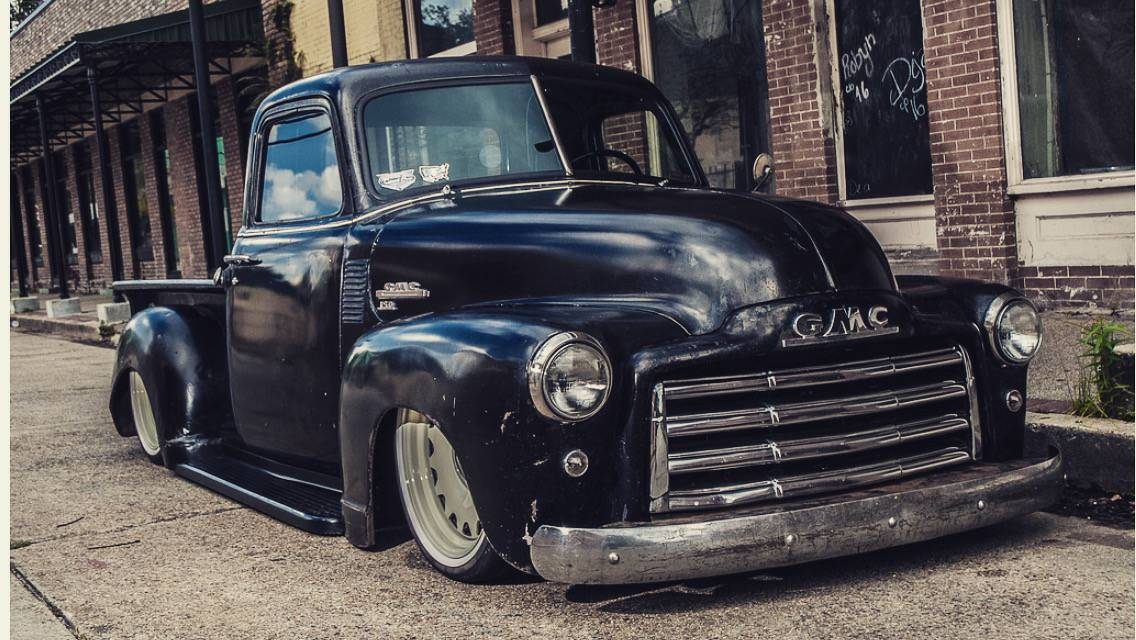 Bangshift Com This 1949 Gmc 3100 Is Laid Out Patina D