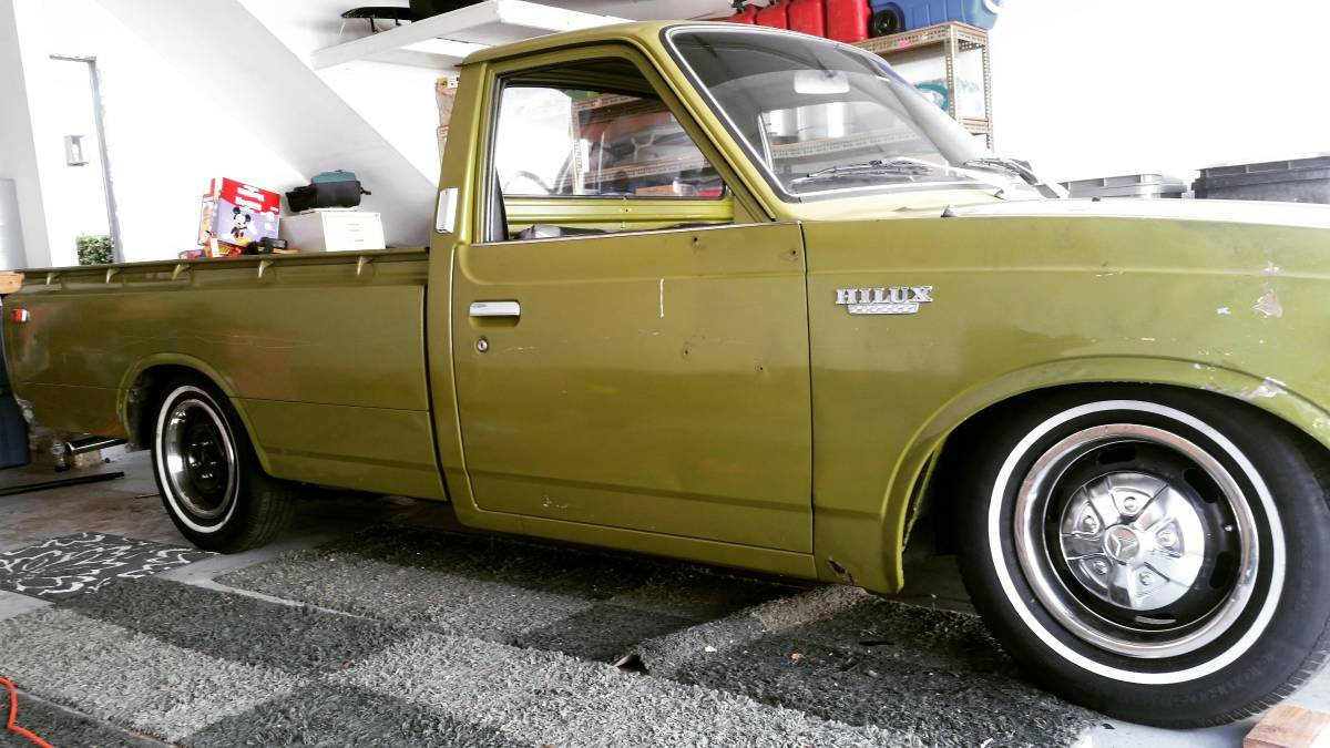 BangShift.com This 1973 Toyota Hilux Pickup Is Old School Perfection ...