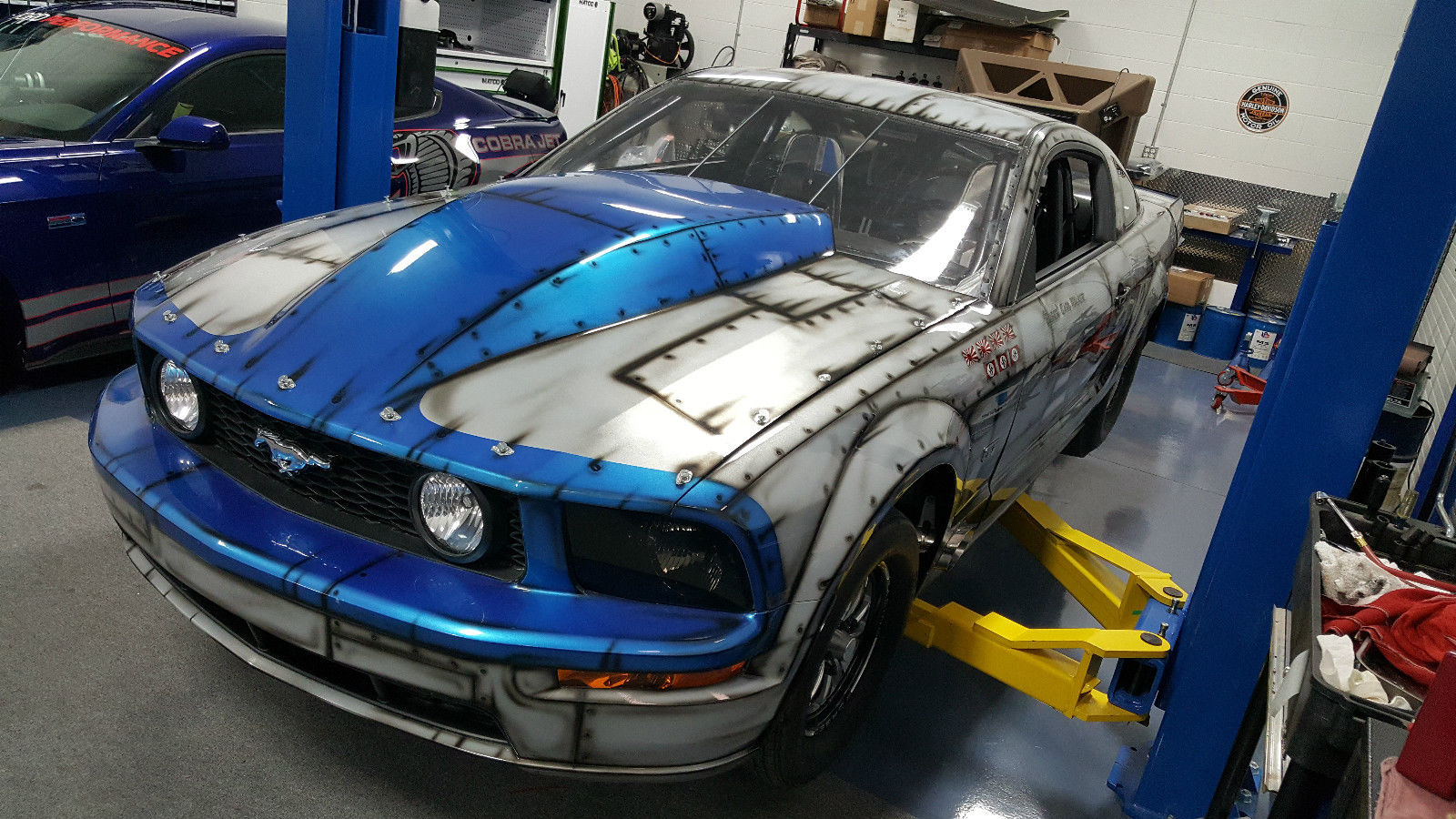 You cant build this new 2005 drag radial mustang for twice this money
