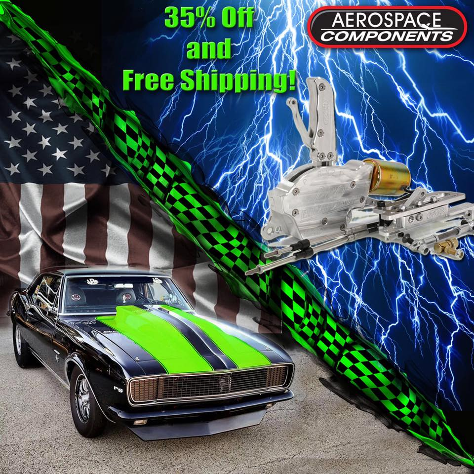 Aerospace Components Black Friday Sale Means 35% Off AND Free Shipping