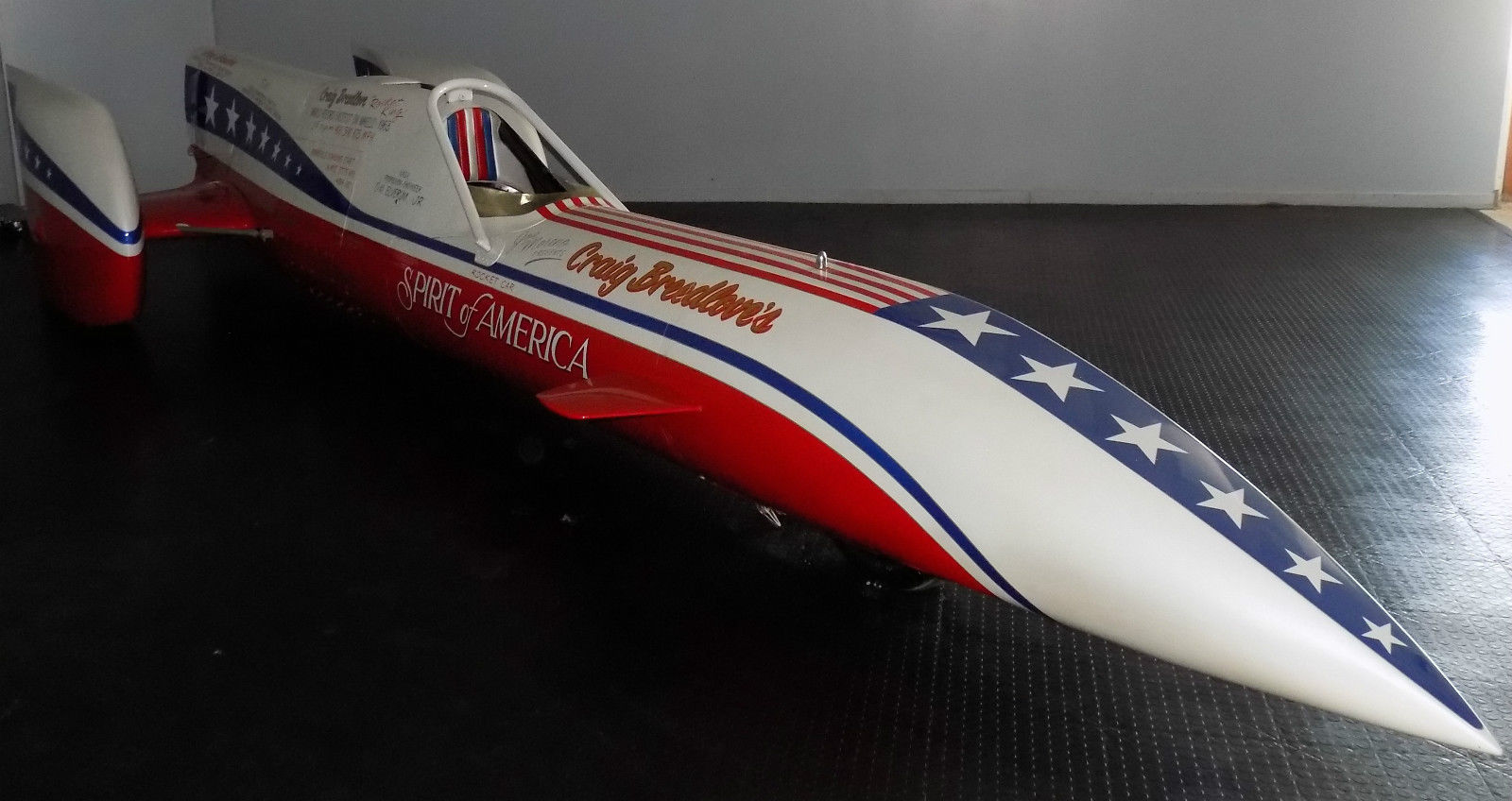 One of Craig Breedlove's Rocket Cars is Up for Sale on eBay