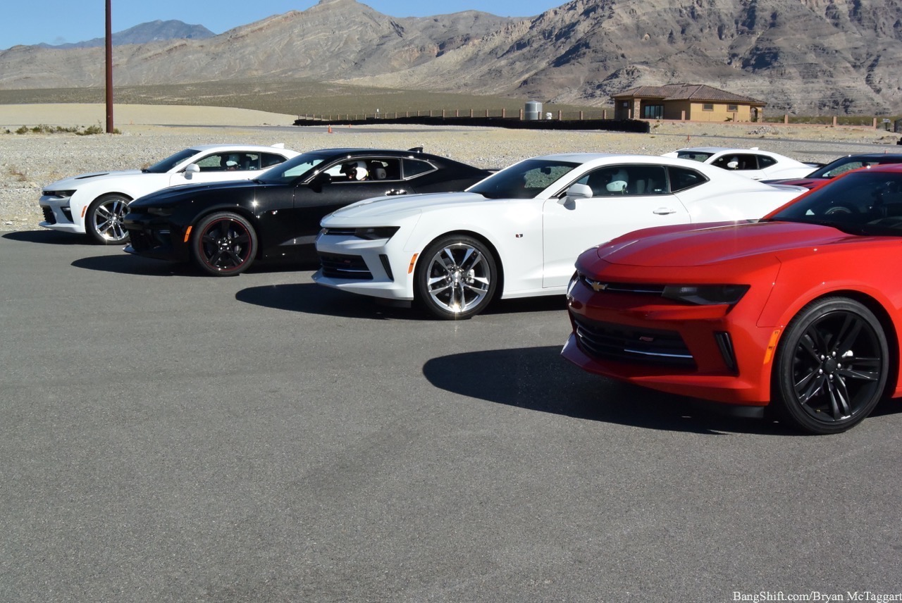 SEMA 2016: Chevrolet Actually Asked Us To Flog Their Cars At Spring Mountain Motorsports Park And Tell You How They Did!