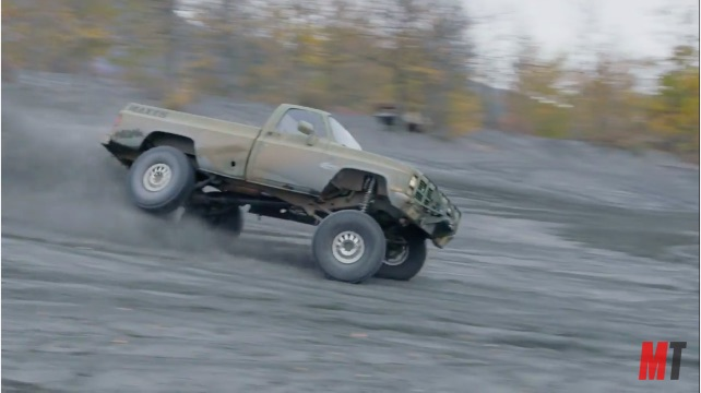 Alaskan army truck