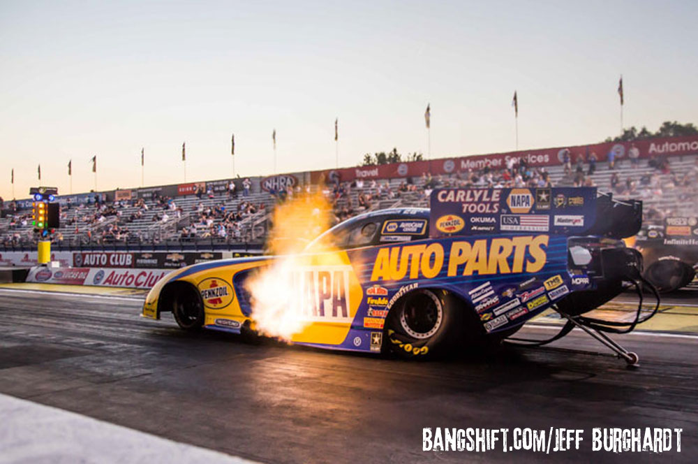 Capps Closes In On 1st NHRA Funny Car Championship at NHRA Finals!