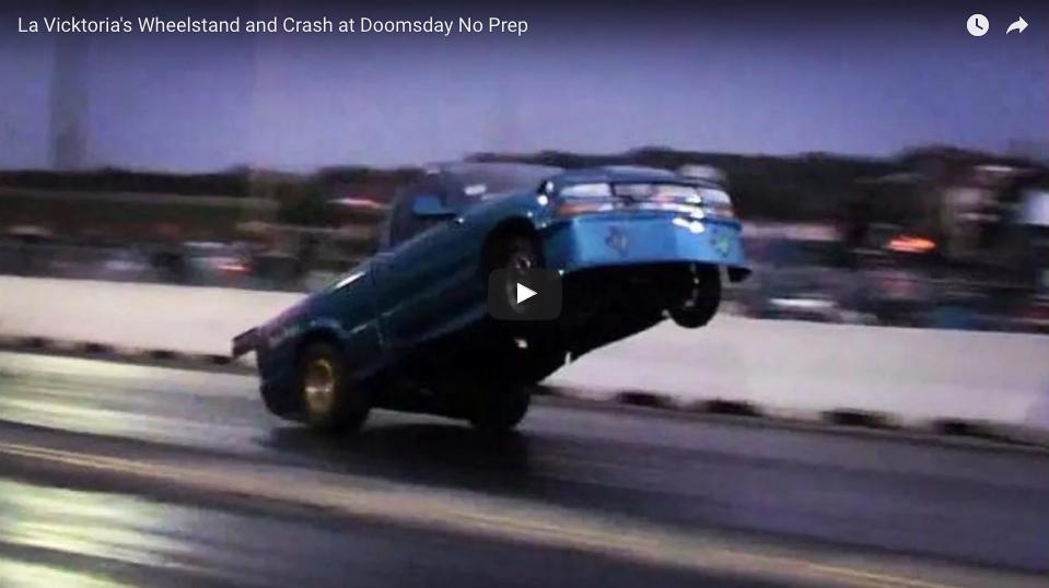 La Vicktoria S10 Giant Wheelstand And Crash From Doomsday No Prep At Denton