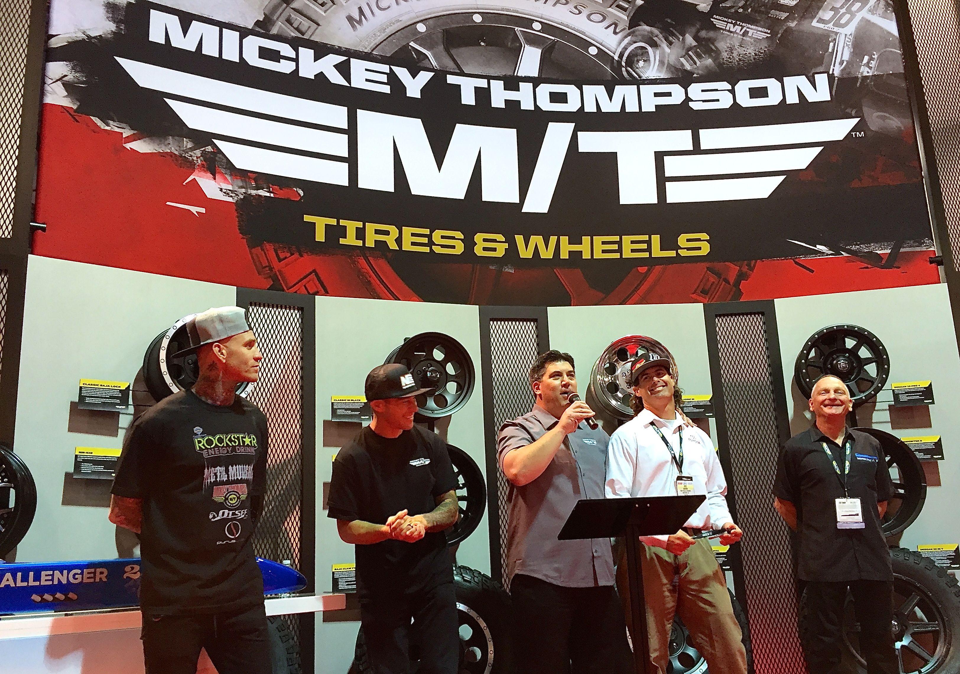 SEMA 2016: Mickey Thompson Unveils Fresh Brand Identity – Renews Commitment To Racing