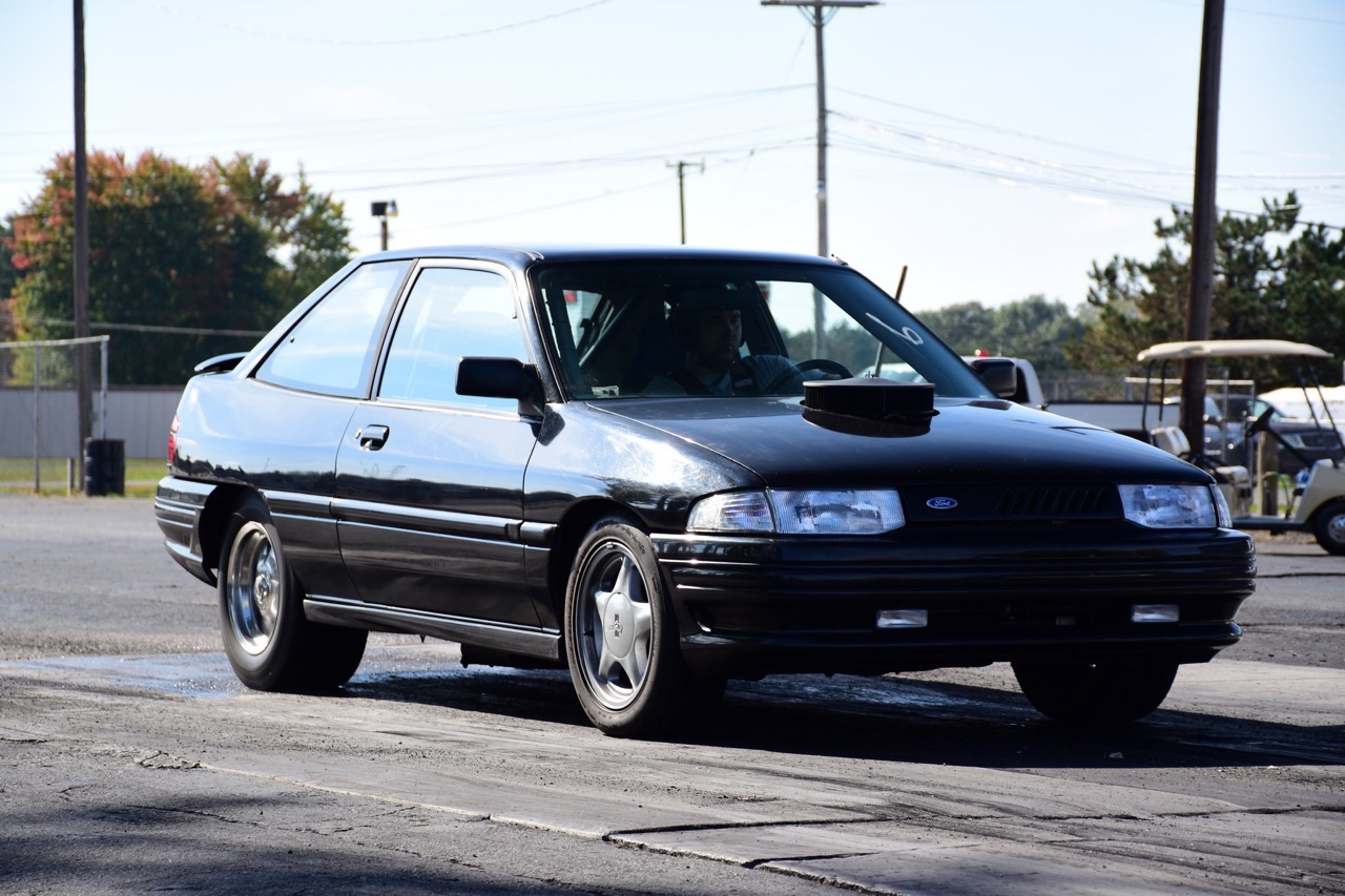 We follow up on the rwd converted v8 swapped 1993 ford escort gt 11 51