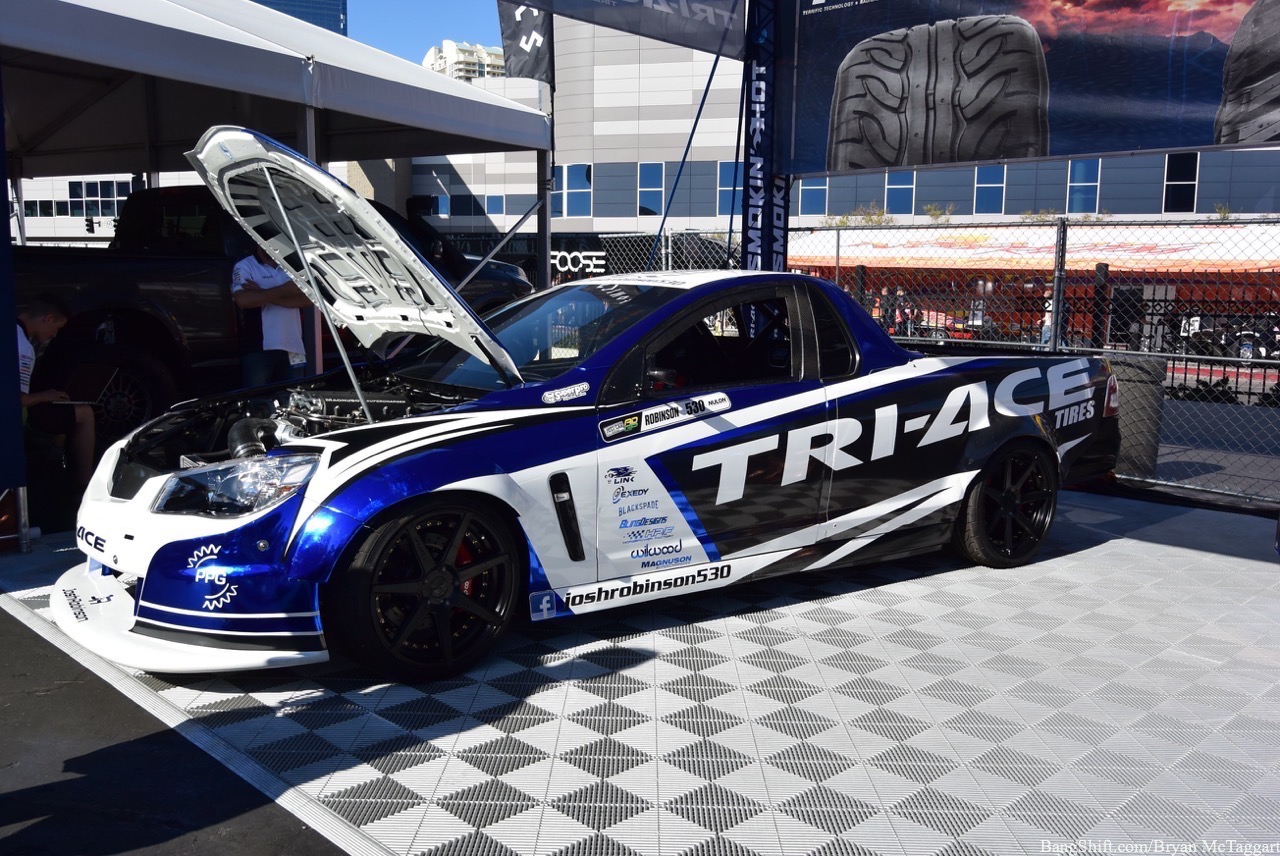 SEMA 2016: The Tri-Ace Drift Holden Ute – Specially Shipped Over From Australia With Love (And Some Hate!)