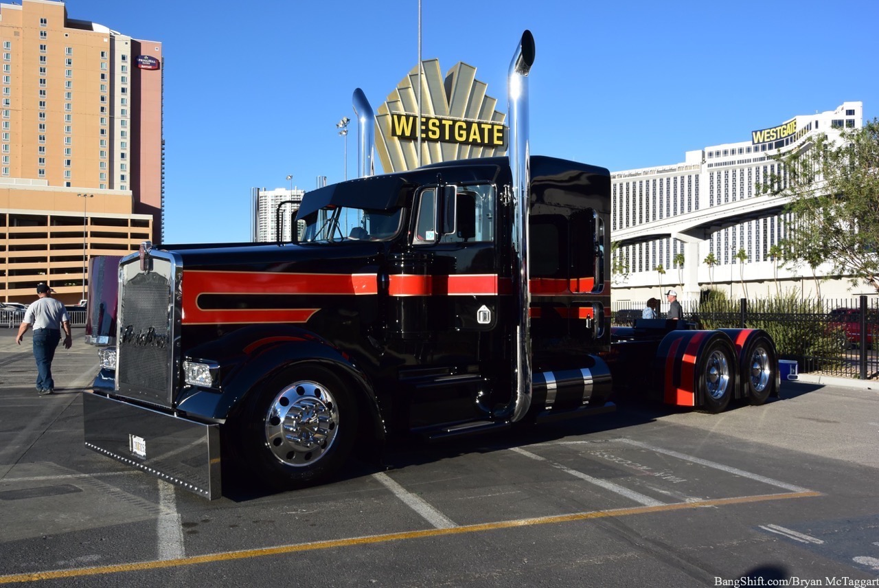 SEMA 2016: Even The Trucks Are Awesome! Check Out Some Of The Shell SuperRigs We Found Outside!