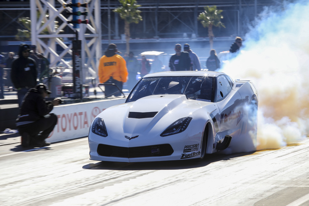 More Wheels Up, Tire Smoking, Racing Action From Street Car Super Nationals