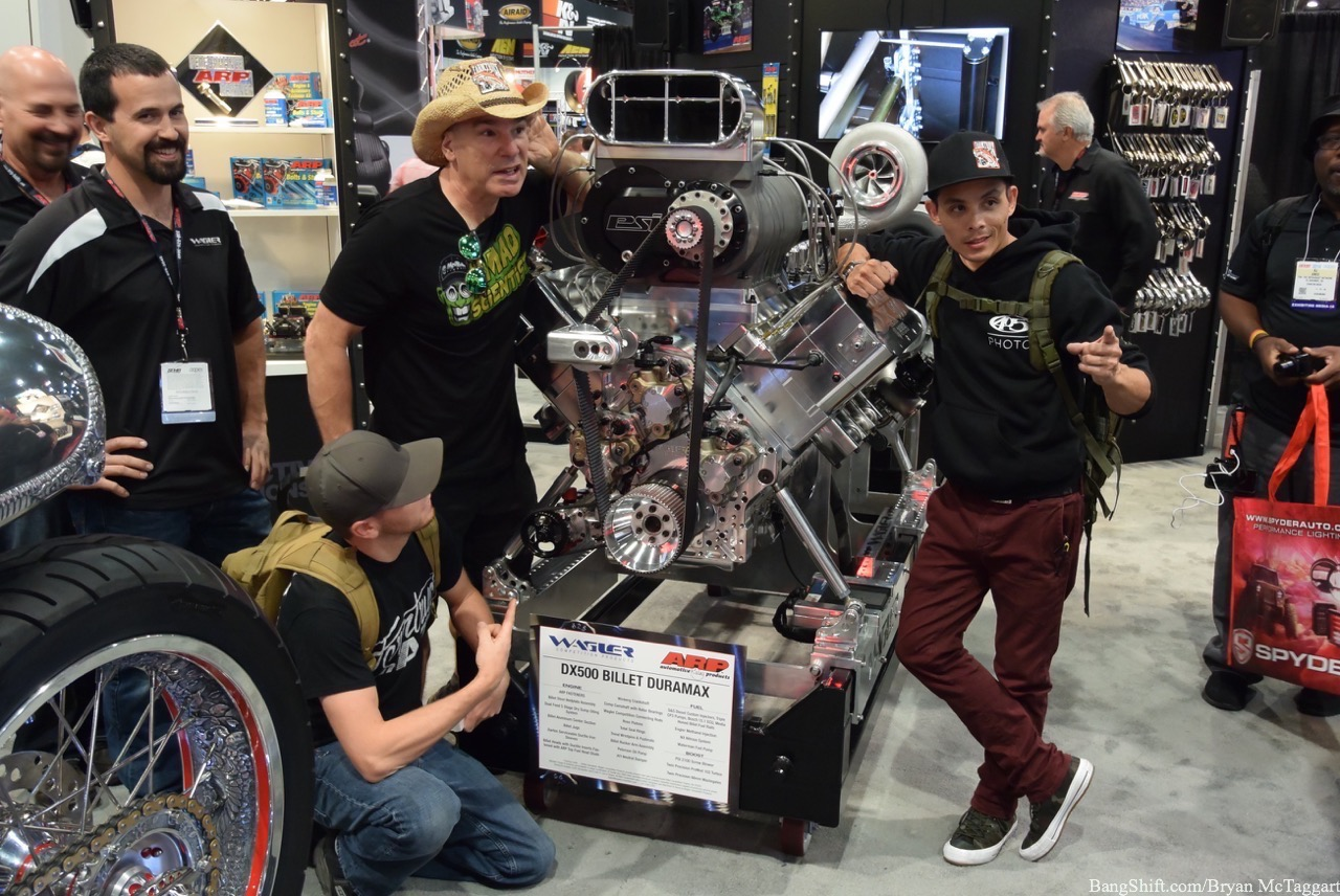 SEMA 2016: Here's A Gallery Of Engines and Only Engines From The SEMA Show