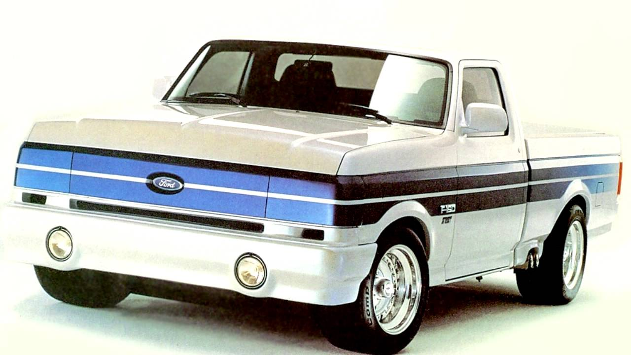 random car review the 1990 ford f 150. Black Bedroom Furniture Sets. Home Design Ideas