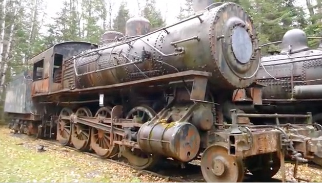 Cool Video: There's A Locomotive Graveyard Deep In The Woods Of Maine – This Is Awesome