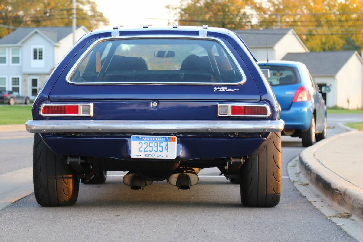 BangShift.com Holy Overkill: This 1972 Ford Pinto Looks ...