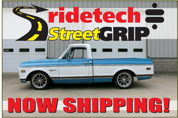 Good News! RideTech C10 SteetGRIP Now Shipping – Order Yours Today!