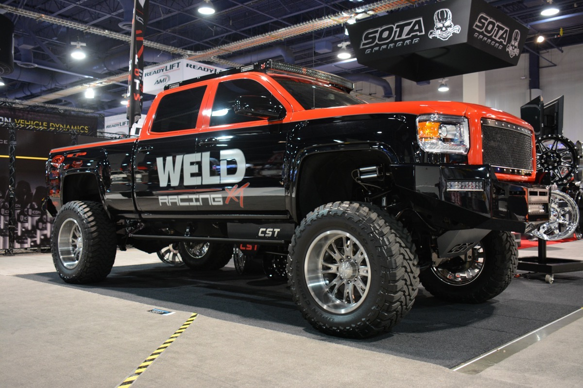 SEMA 2016: Weld Racing Goes Big And Introduces New Weld Racing XT Product Line For Lifted Trucks