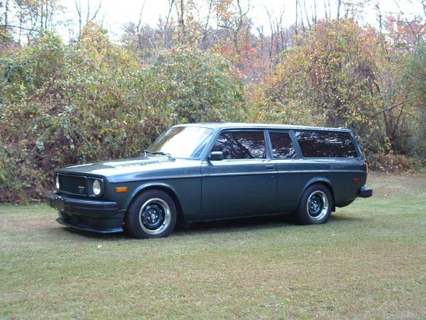 BangShift com This V8-Swapped One-Of-None Volvo 145 Wagon Is All Of