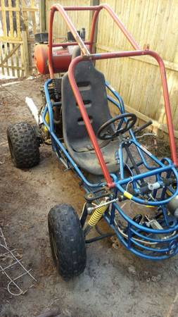 BangShift com This Suzuki Katana-Powered Go Kart Is 100