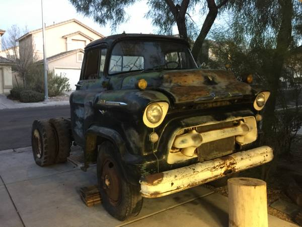 This 1956 Chevrolet 5100 Is 2 Ton Greatness That Deserves To Be A Ramp Truck
