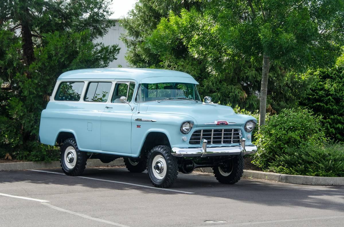 1956 Chevy Suburban 4x4 Wiring Diagrams 1961 Bangshift Com Omg This Napco Equipped Chevrolet Is Rh Suburbans Frame 1965 For Sale