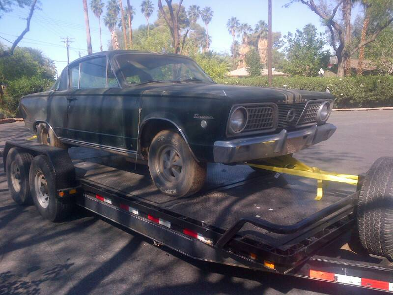 This Barn Find Barracuda Will Be Epic On The Strip Again