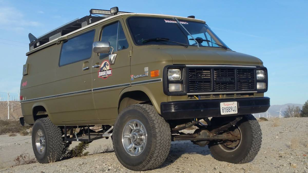 BangShift.com This Solid Axle 4x4 1985 Chevy Van Is The Ultimate Off Road Adventure Rig ...