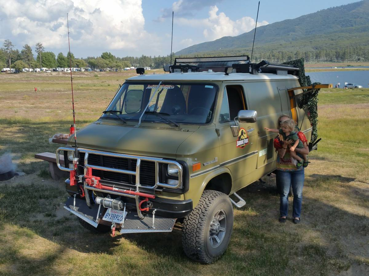 4X4 Van For Sale >> BangShift.com This Solid Axle 4x4 1985 Chevy Van Is The Ultimate Off Road Adventure Rig ...