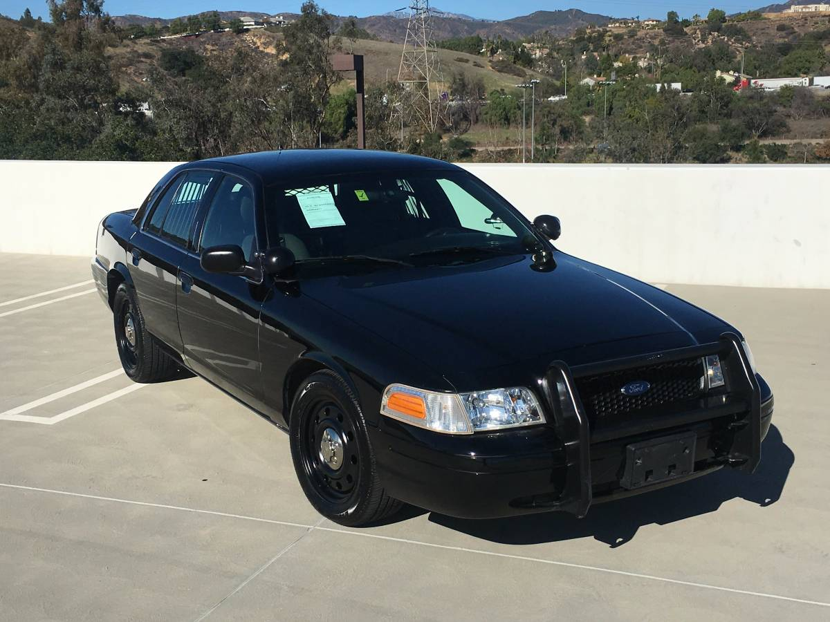 bangshift for sale cheap: the cleanest police interceptor crown